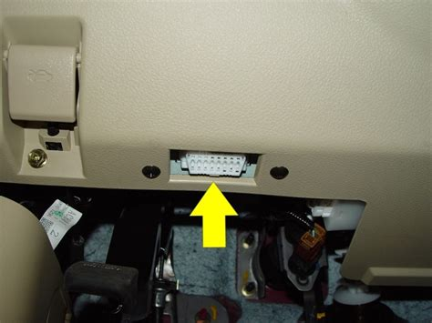 Obd Port In Car by Where Is Cars Obd Port Located Obd2 Locator Car