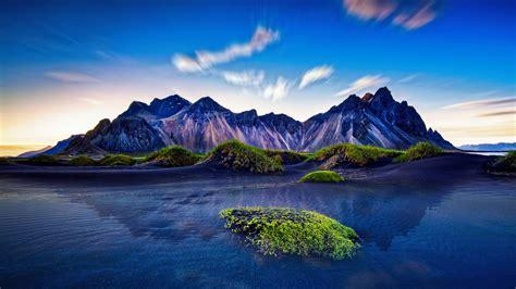 wallpaper mountains iceland