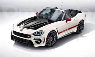 Fiat 124 Spider Abarth Abarth Is Fiat 124 Spider To Increase Sales