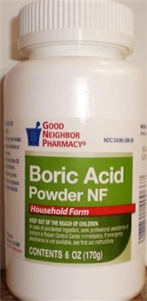 generic items otc pharmacy gnp boric