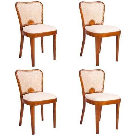 dining chairs from fischel 1930s set of 4 for sale at pamono