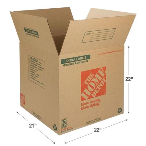 the home depot 22 in l x 21 in w x 22 in d large