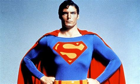 christopher reeve pictures superman the s on superman s chest doesn t stand for superman