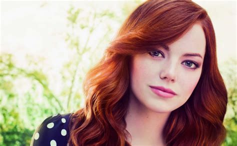 emma stone shemazing ginger makeup s life style by modernstork com