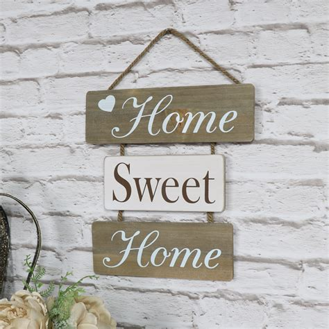 home sweet home images home sweet home hanging wall plaque melody maison 174