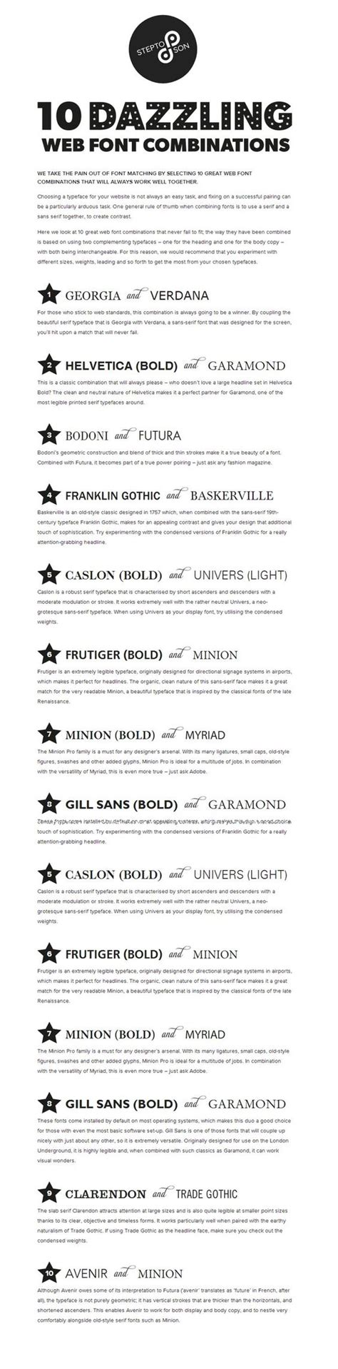 resume font tips 10 great web font combinations for your resume resume