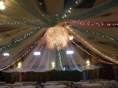 tulle ceiling   wedding   Pinterest   Ceilings, Tulle