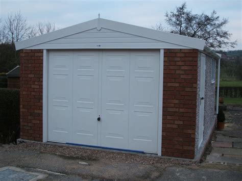 Hanson Garages Featherstone by Apex Royale Range Hanson Concrete Garages