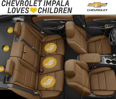 the safety features of the 2015 chevrolet impala, colorado