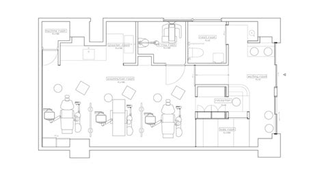 floor plan of dental clinic dental clinic with coved ceiling hiroki tominaga archdaily