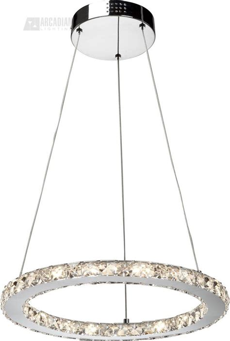 Modern Circular Chandelier Artcraft Lighting Ac180 Eternity Modern Contemporary
