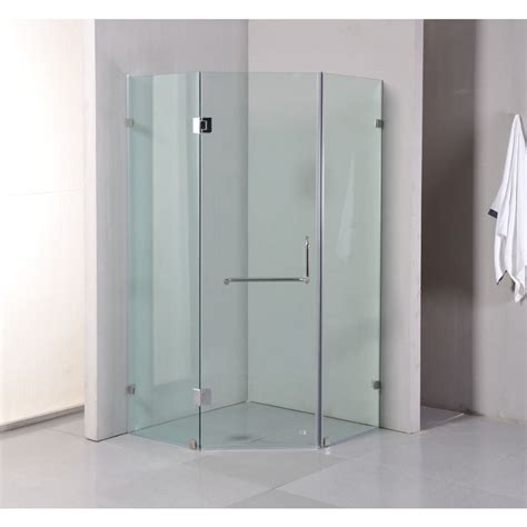 Shower Screens Doors Frameless Glass Shower Screen W Door 1mx1m Buy Enclosed Shower Screens