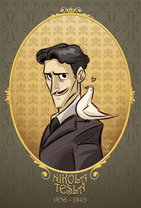 Tesla Married A Pigeon Nikola Tesla By Marimoreno On Deviantart
