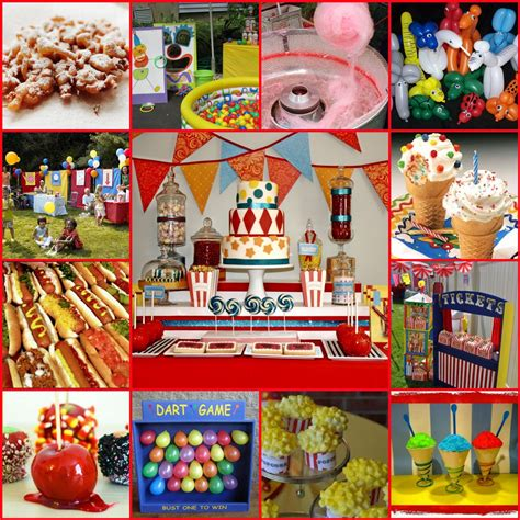 carnival themed birthday decorations carnival themed birthday wcgevents