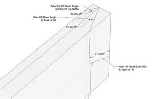 How To Cut A Hip Roof Rafter irregular hip roof rafters