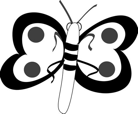 clipart black and white butterfly black and white butterfly clipart black and