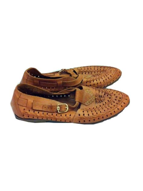 navajo slippers 70s moccasin shoes navajo woven mocs leather