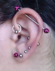 ear piercings types for