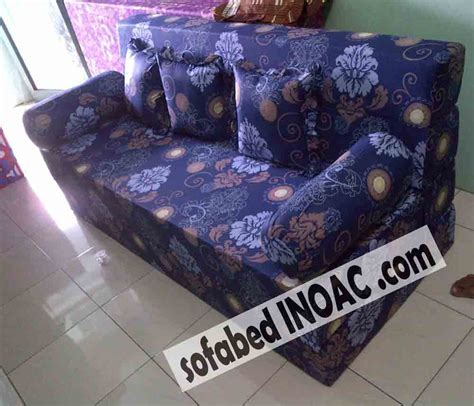 Hordeng Minimalis Polkadot Abu Abu spesialis sofabed inoac