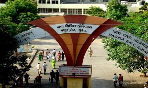 government medical college surat courses fees