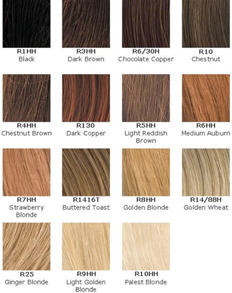 types of brown hair hair and hairstyles hair color charts of types of blonde