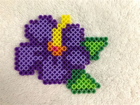 perler bead flower 38 best perler bead flowers images on perler