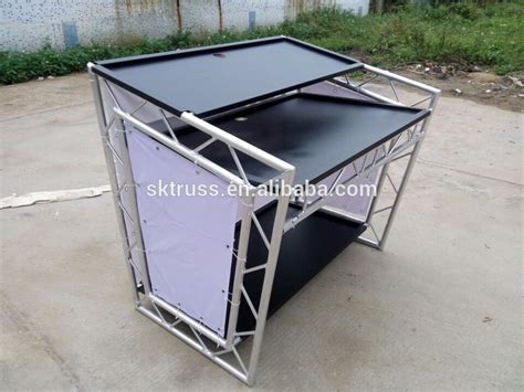 Dj Tables For Sale by Market Movable Aluminum Table For Dj Booth Dj Table