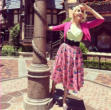 disney bound in vintage couture inspired dresses at