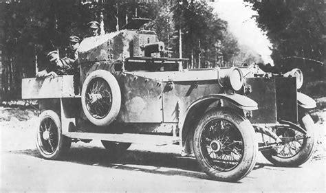 rolls royce armored car landships ii