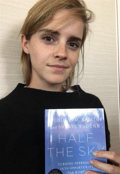 emma watson book on international literacy day emma watson interviews