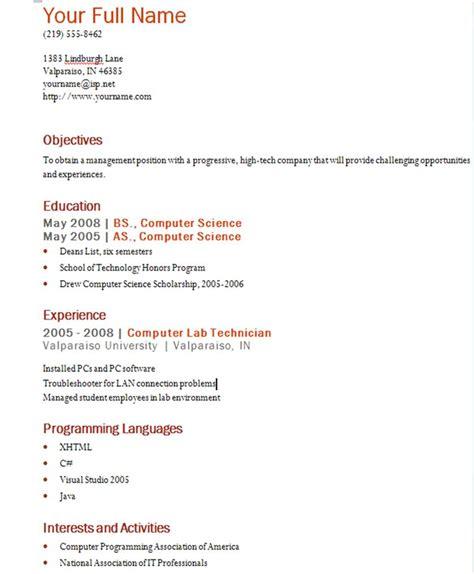 Resume Information Resume Information Jpg