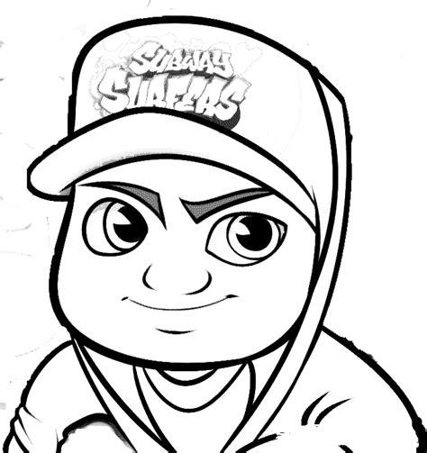 dibujos de fredy colorear jake subway surfers