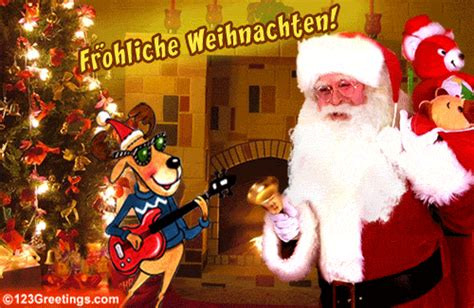 ein frohes weihnachtsfest  german ecards greeting