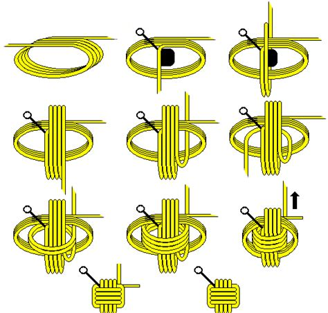 How To Make A Number 4 Knot - how to make a monkey knot for my l diy for