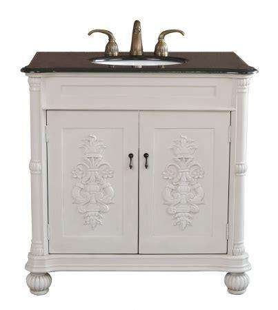 antique white bathroom vanities 36 inch single sink bathroom vanity in antique white