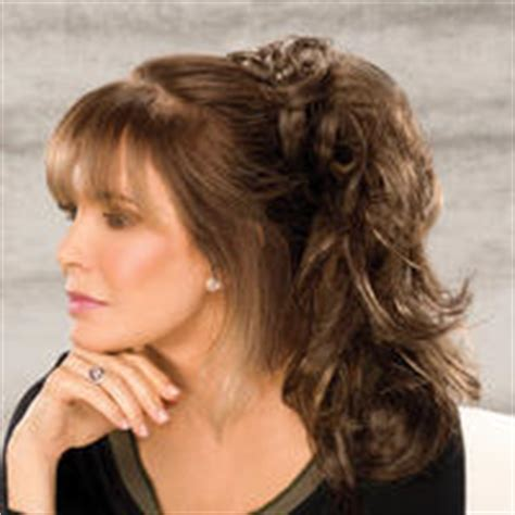 jacqueline wood wear hair extensions micki hairpiece by jaclyn smith a4508 photo