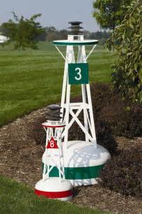 decorative lighthouses for in home use home garden ornamental buoys the lighthouse man