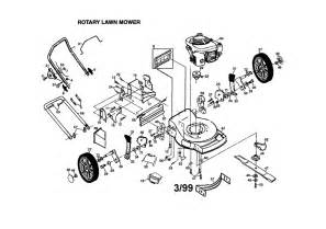 Honda Lawn Mower Engine Diagram Frigidaire Rotary Mower Parts Model Pp55y22cha Sears