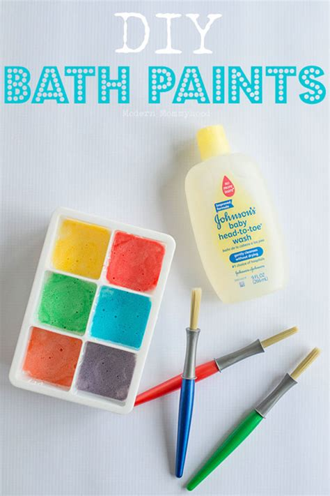 toddler diy crafts 21 easy diy paint recipes your will go for