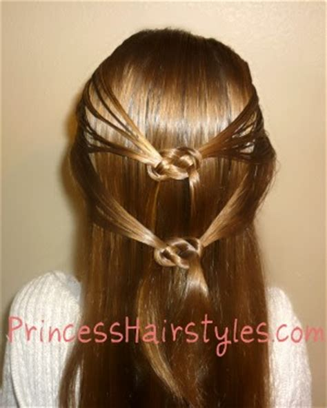 love knots hairstyle pretzel knot hairstyle hairstyles for girls princess