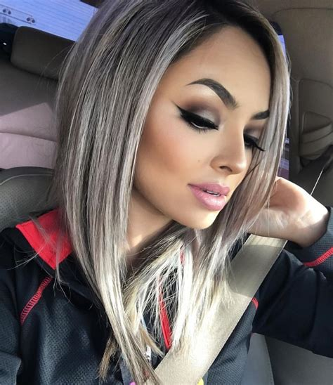 gray hair color for latina women 17 best ideas about silver hair on pinterest gray hair