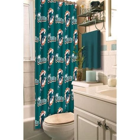 Nfl Miami Dolphins Shower Curtain For The Home