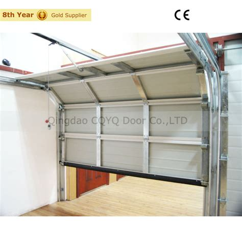 Sectional Overhead Garage Door Single Skin Steel Sectional Garage Door Residential Door Skin Buy Residential Door Skin