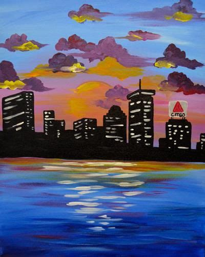paint nite for 21 21 best paint nite paintings cityscapes images on