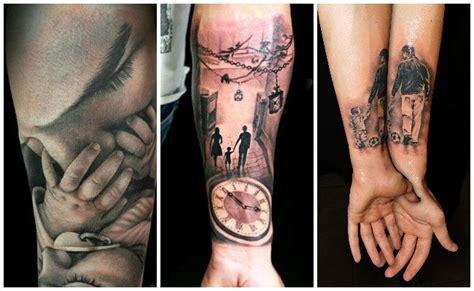 imagenes de tatuajes que simbolizan a los hijos tatuajes de padres con dibujos de sus hijos ideas de