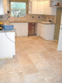 Travertine Kitchen Floor We Do Photos