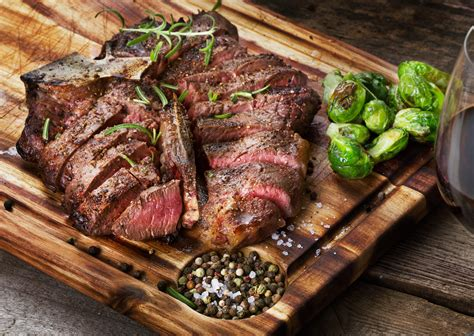 Two 24oz Porterhouse Steaks Calvetti Meats
