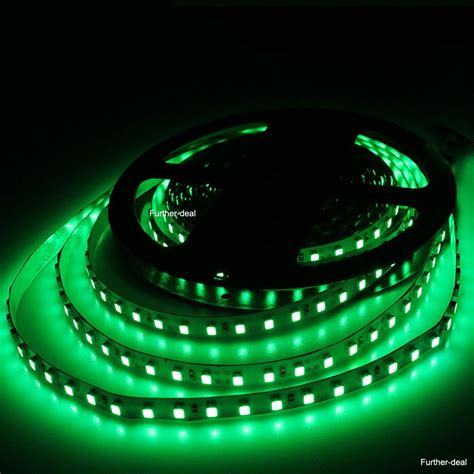 Green 5m 600leds Smd 3528 Led Strip Lights Flexible Tape Led Light 3528