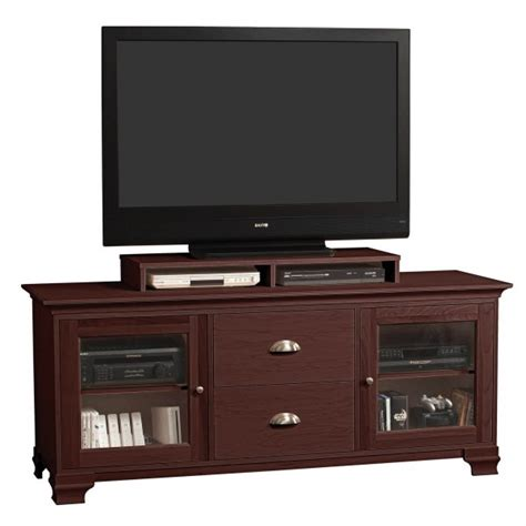 s jake 70 inch wide two drawer flat screen tv console by