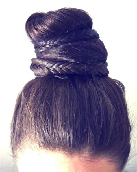 hair into small buns once dry remove buns and finger brush your hair how to hair girl the treasure long hair bun